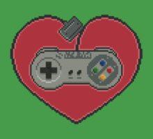16-Bit Romance by vgjunk