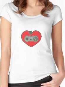 16-Bit Romance Women's Fitted Scoop T-Shirt