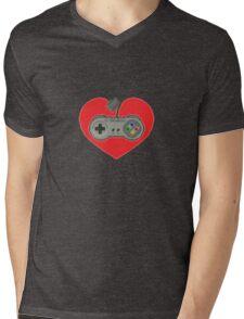 16-Bit Romance Mens V-Neck T-Shirt