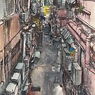 Back alley by Adolfo Arranz