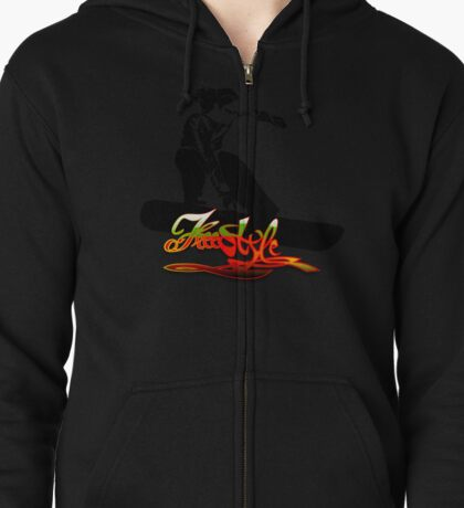 FREESTYLE Zipped Hoodie