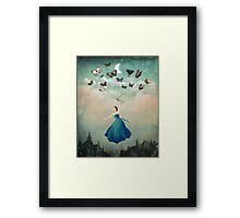 Leaving Wonderland  Framed Print