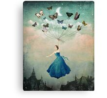Leaving Wonderland  Canvas Print