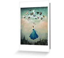 Leaving Wonderland  Greeting Card