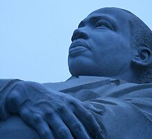 A Blue Martin Luther King, Jr. - 1 by Cora Wandel