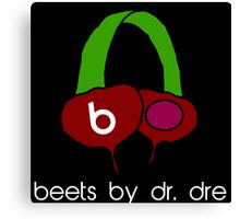 Beets by Dr. Dre Canvas Print