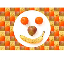Fruit Face Photographic Print