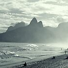 la plage d'ipanéma by dan throsby
