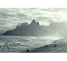 la plage d'ipanéma Photographic Print