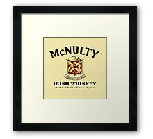 McNulty Irish Whiskey Framed Print