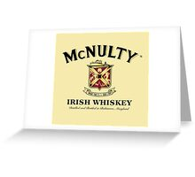 McNulty Irish Whiskey Greeting Card