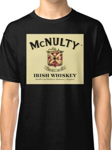 McNulty Irish Whiskey Classic T-Shirt