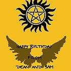 Supernatural Birthday by artsandherbs