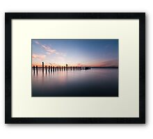 Minimum Framed Print