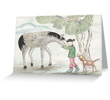 It Came Upon the Wind 2 Greeting Card