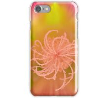 Hollyhock Macro iPhone Case/Skin