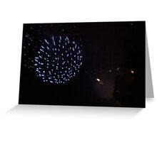Firework Night Greeting Card