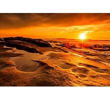 Sunset at Windansea Beach Photographic Print