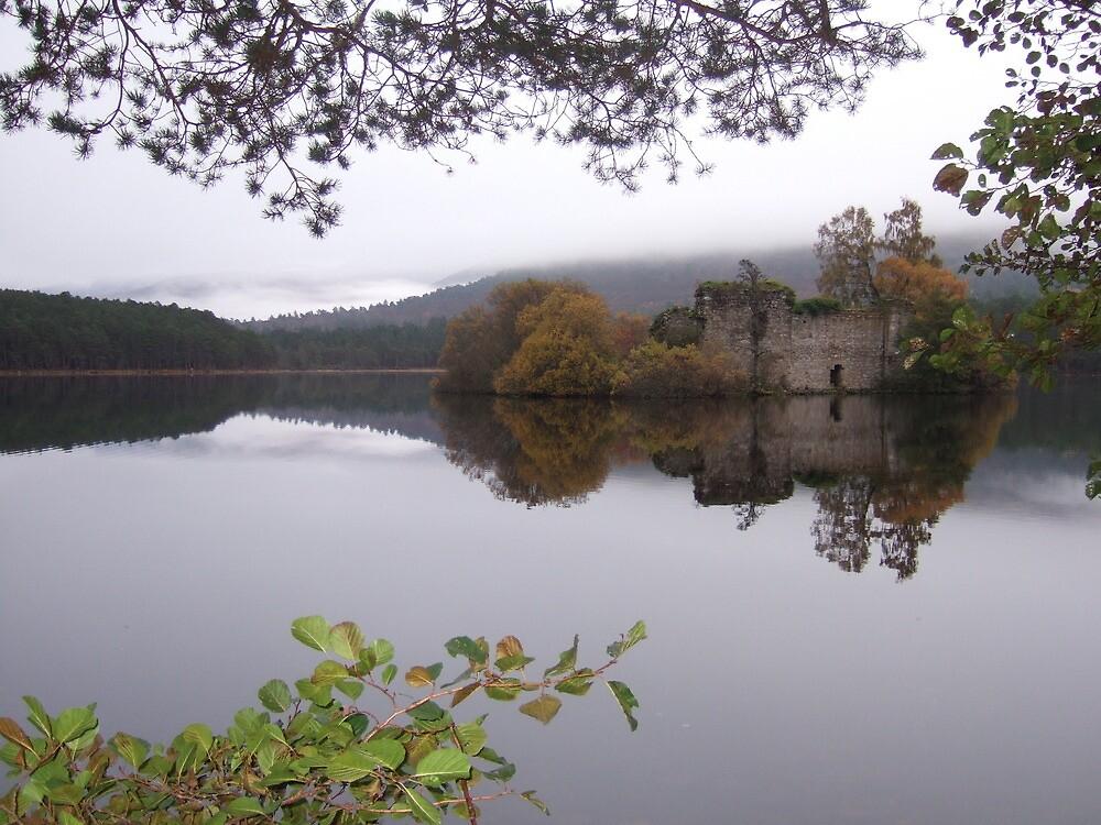 Loch an Eilein nr. Aviemore, Scotland #2 by Graham Geldard