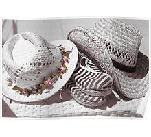 les 2 chapeaux Poster
