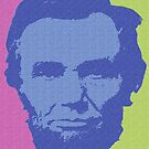 ABRAHAM LINCOLN-1863 (LARGE) 3 by OTIS PORRITT