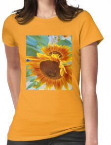 Sunflowers 2 Womens Fitted T-Shirt
