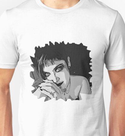 Succubus WHITE eyes for Black and dark T-Shirts Unisex T-Shirt