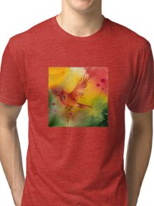 """Sun Dance"" from the series ""In the Garden of Joy"" Tri-blend T-Shirt"