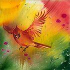 """Sun Dance"" from the series ""In the Garden of Joy"" by Anna Miarczynska"