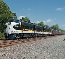 Norfolk Southern Executive Train by StonePhotos