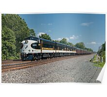 Norfolk Southern Executive Train Poster