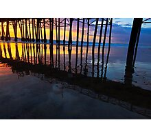 Oceanside California Pier at Sunset Photographic Print