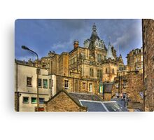 Hidden in the Cowgate Canvas Print