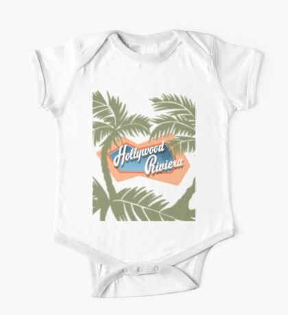 The Hollywood Riviera One Piece - Short Sleeve