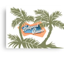 The Hollywood Riviera Canvas Print