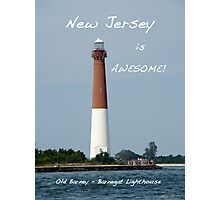 Barnegat Lighthouse - New Jersey - Old Barney Photographic Print