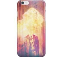 Headless exploding man, in the forest iPhone Case/Skin