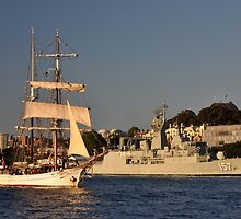 Fleet Review Ships - Old And New, Australia 2013 by muz2142