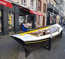 Granville, France 2012 - Reading Boat by muz2142
