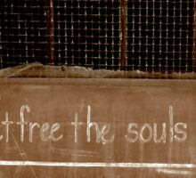 The Dying Set Free the Souls in Purgatory Sticker