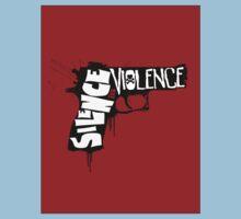 SILENCE THE VIOLENCE Kids Tee