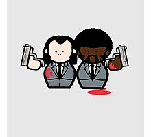 Jules and Vincent- Pulp Fiction Photographic Print