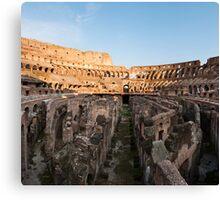 Il Colosseo IV Canvas Print