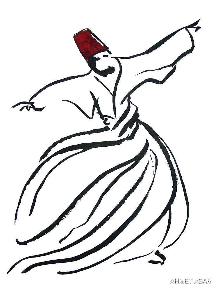 Enchanting Sufi Whirling Dervishes By Adam Asar