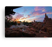 Thunder Mountain Sunset Canvas Print