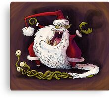 santa claws revisited Canvas Print