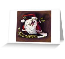 santa claws revisited Greeting Card