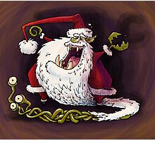 santa claws revisited Photographic Print