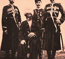 Eyup Pasha Kurdish Hamidiye Officier 2 by Adam Asar