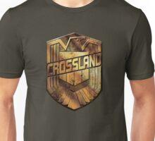 Custom Dredd Badge - (Crossland)  Unisex T-Shirt